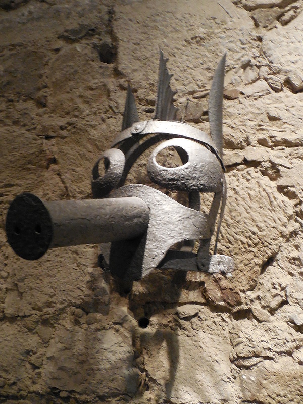 Mask at torture museum