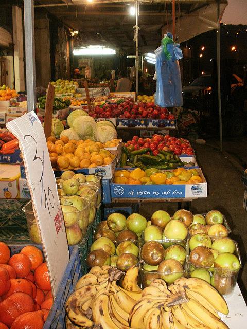 cute veggie market