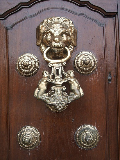Cool knockers at church