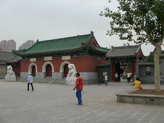 Temple Outside