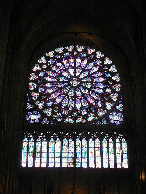 Notre Dame windows