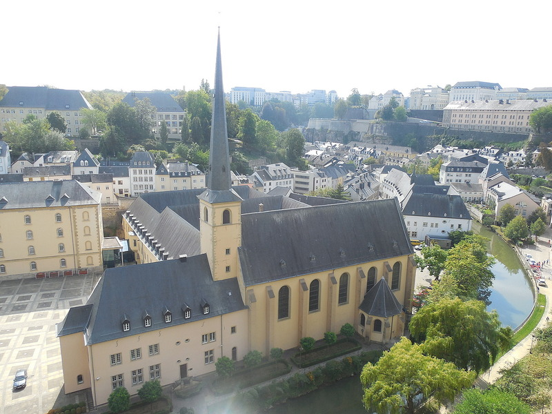 Luxembourg from the casements