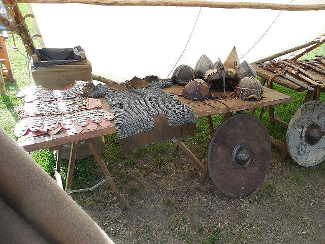 Reenactor's table