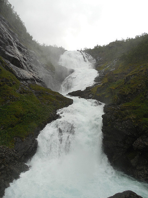 Waterfall between Myrdall and Flam