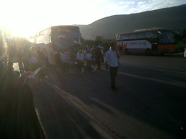 Blocking the bus