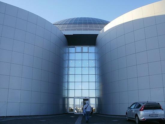 Perlan entrance