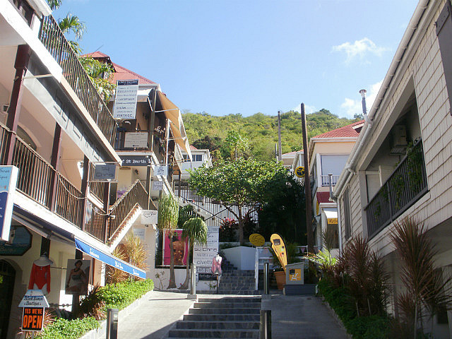 Gustavia town