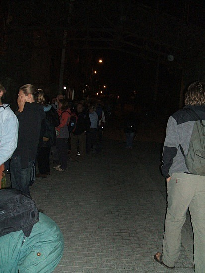 The line at 5am