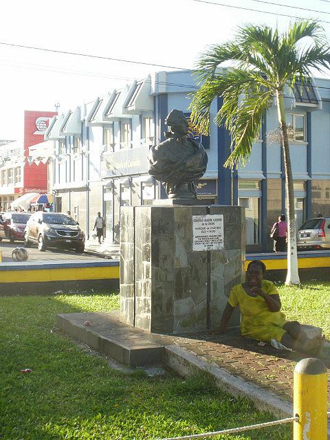 park downtown Castries