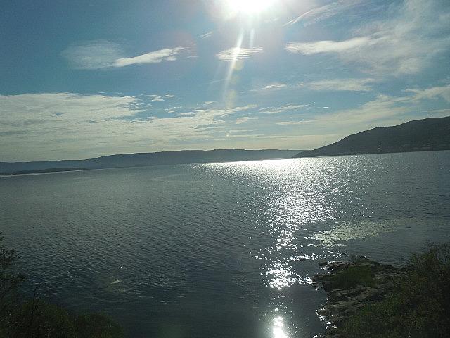 Train ride between Oslo and Myrdall