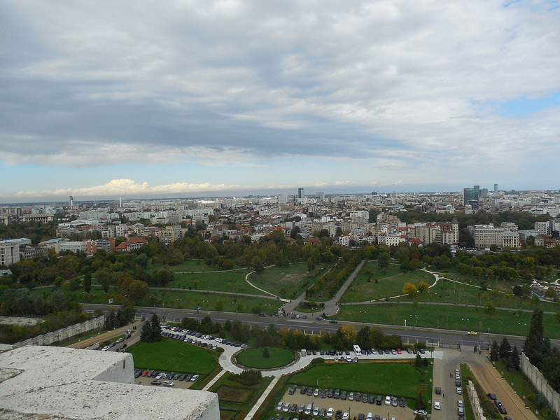 View of Bucharest