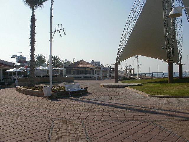 Nahariya boardwalk area