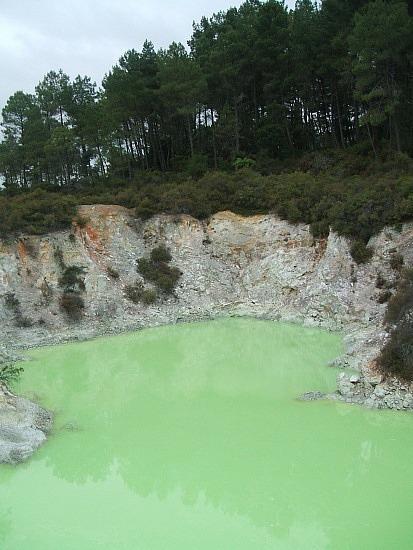 Lime pond