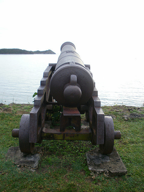 Cannon at Fort James