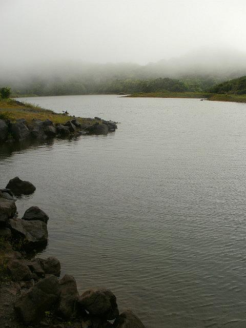 fog over freshwater lake