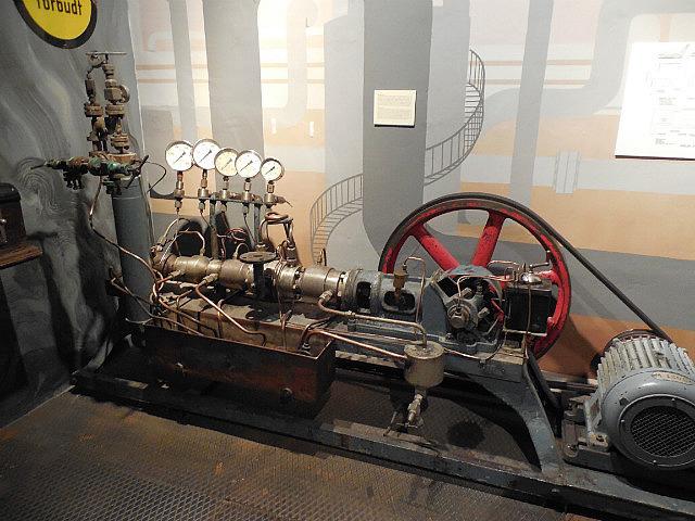 Inside Industrial museum