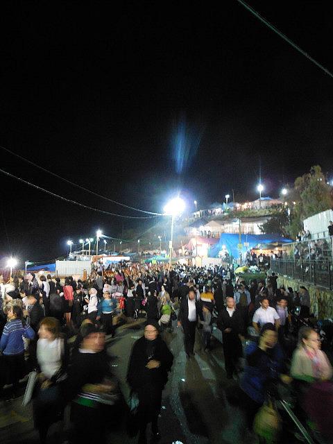 Crowd at Meron