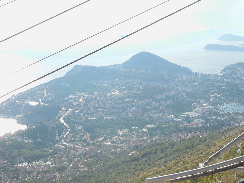 View from Funicular