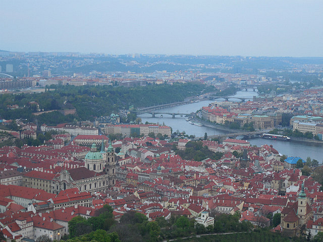 View from Petrin