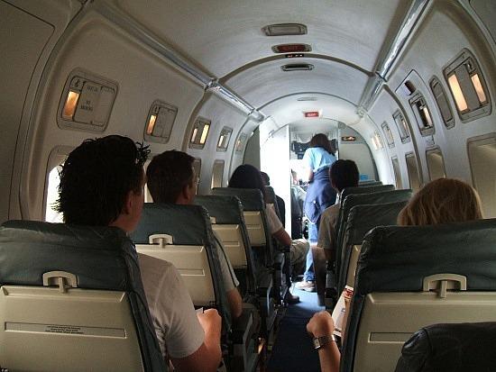 inside our Rotorua plane