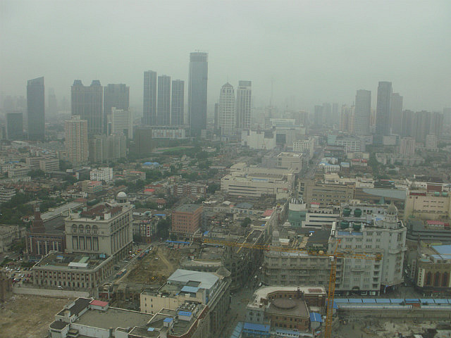 View from Tianjin WTC