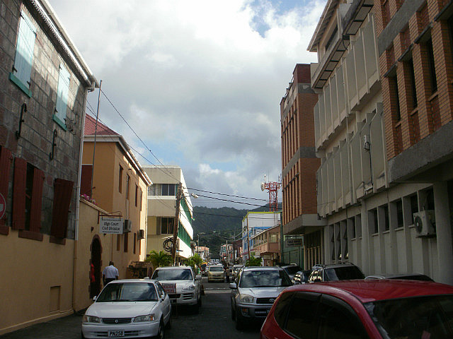 streets of Roseau