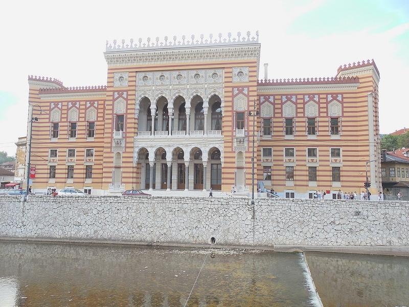 Austrian-built pseudo-Moorich architecture
