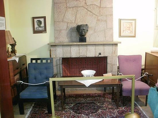 Ben Gurion's living room