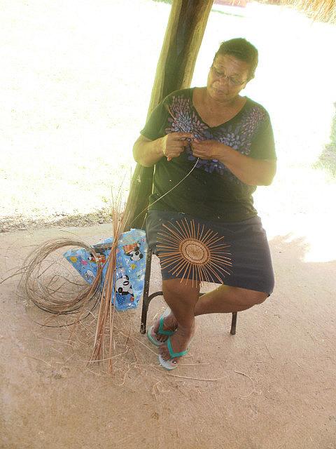 Kalinago basket weaver