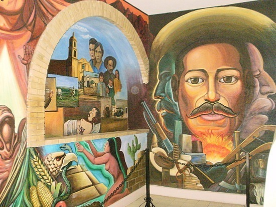 Pancho's mural