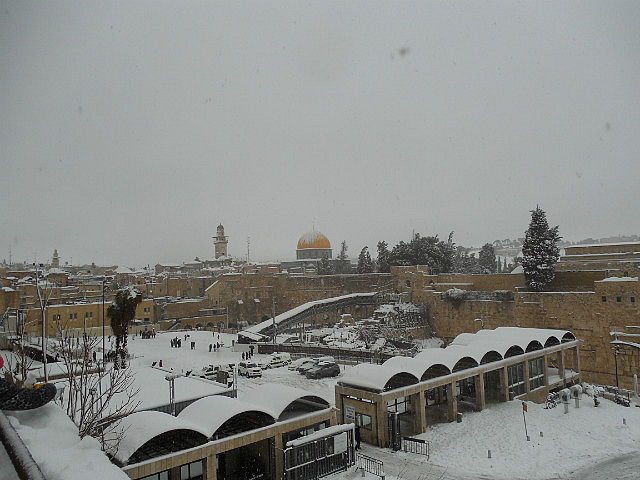 Kotel and Dome of the Rock