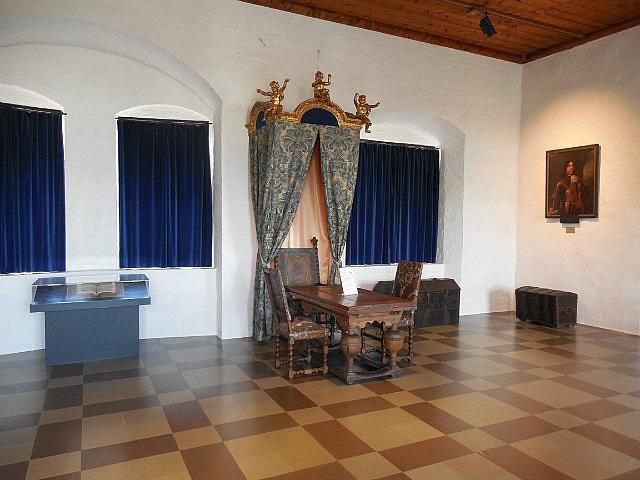 Inside Malmo Castle