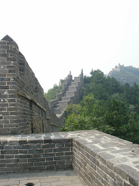 Restored section of Great Wall Jinshanling