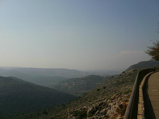 View towards Mediterranean