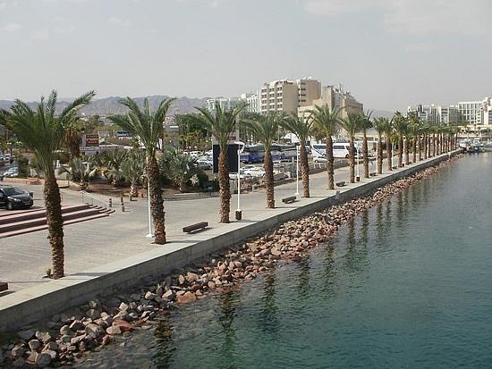 Eilat shore