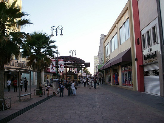 Shops of downtown Chihuahua