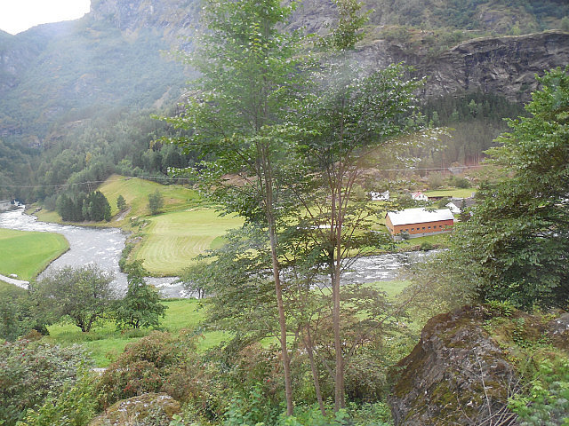 Train ride between Myrdall and Flam