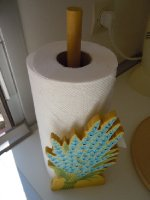 French paper towel holder