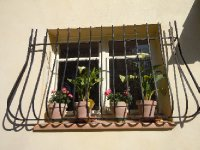 Villa L'Ecrin kitchen window