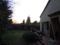 First sunset in Roquefort-les-Pins