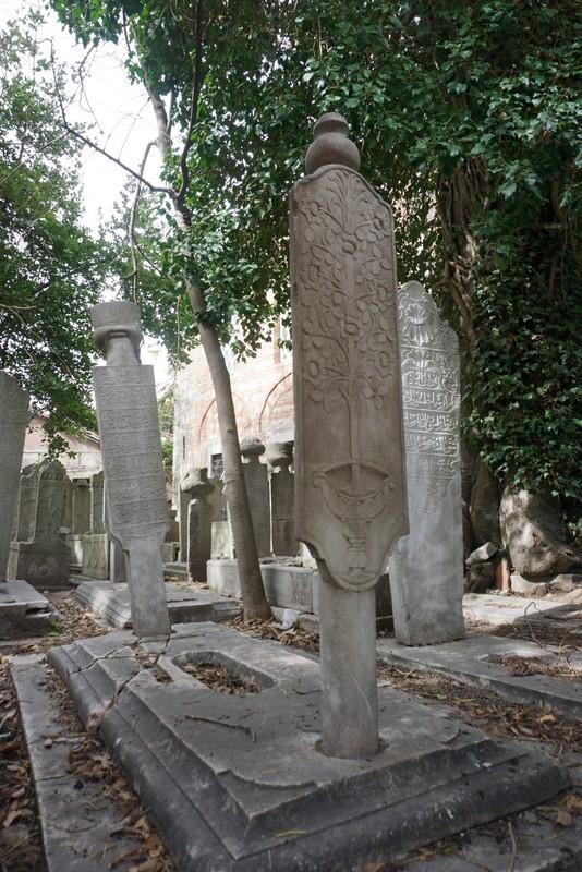 Cemetery Suleymaniye Mosque