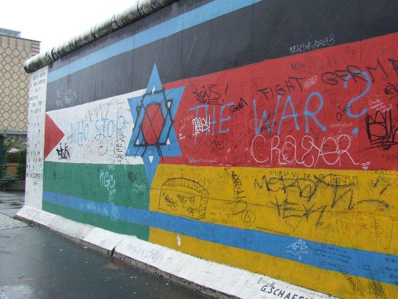 Graffiti, Berlin Wall