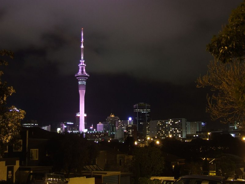 City and Sky Tower, Auckland