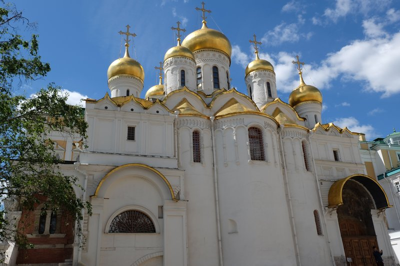 One of the stunning Kremlin churches