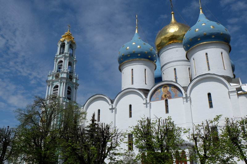 Monastery at Sergiev Posad