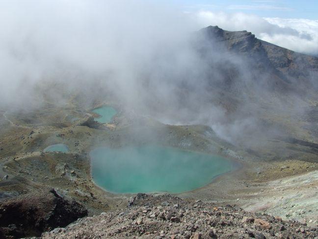Thermal Lakes, Tongariro Crossing