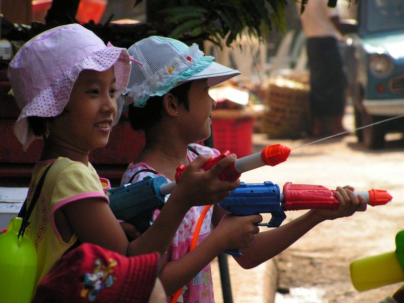 Waterfestival Myanmar