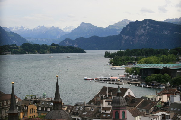 The lake at Lucerne