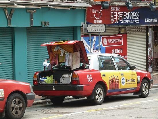 Taxi laundry