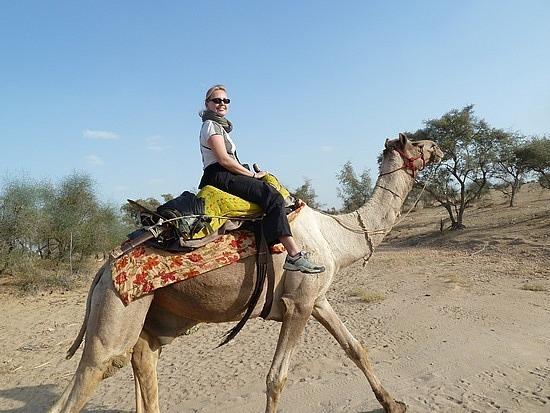 Larebecca of Arabia